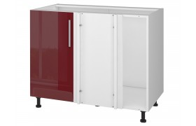 Шкаф напольный угловой Хелена 100/40 см фото