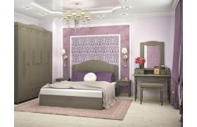 Спальный гарнитур Ассоль Плюс в цвете Грей
