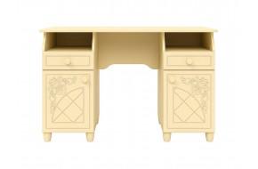 Письменный стол Соня в цете Ваниль Шагрень