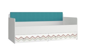 Кровать Кровать с мягким элементом Модерн - Абрис (90х190)