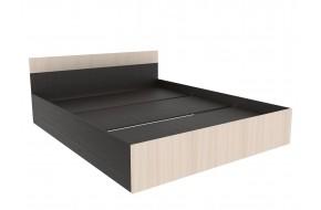 Кровать иктория в цвете Венге