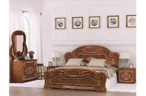Спальный гарнитур Лара в цете Орех