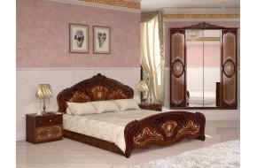 Спальный гарнитур Роза в цете Радика орех