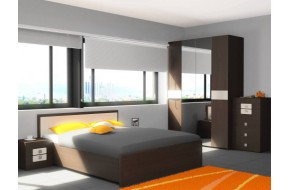 Спальный гарнитур Амели в цете Венге