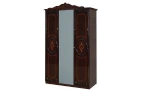Распашной шкаф Шкаф 3-х дверный Роза