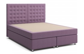 Кровать Box Spring с матрасом и зависимым пружинным блоком Парадиз (160х200) фото